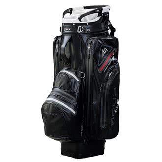 BIG MAX I-Dry Aqua Tour 2 Cartbag - 100% Wasserdicht Black/Silver