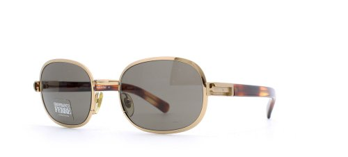Gianfranco Ferre Herren Sonnenbrille Braun Brown Gold