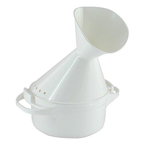 Inhalador plástico blanco 1St