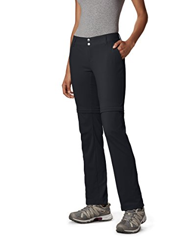 Columbia 2-in-1 Wanderhose für Damen, Saturday Trail II Convertible Pants, Nylon, schwarz, Größe: 10, AK8120