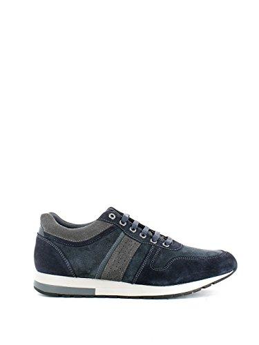 Sneaker Jenson in camoscio blu N. 42