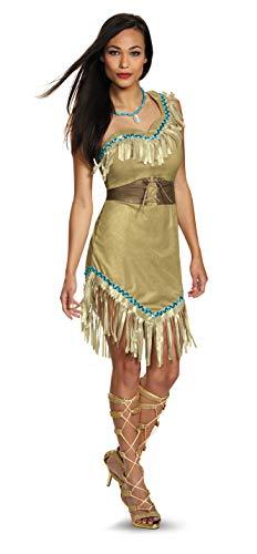 Kostüm Pocahontas - Disney Pocahontas Prestige Adult Costume X-Large 18-20