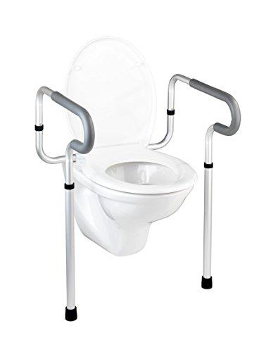 WENKO WC-Stützhilfe Secura, 55,5 x 71-82 x 48 cm,