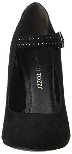 Marco Tozzi 24403, Scarpe con Tacco Donna Nero (Black)