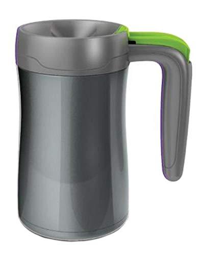 Contigo Thermobecher Fulton, grey/citron, Edelstahl, 360 ml