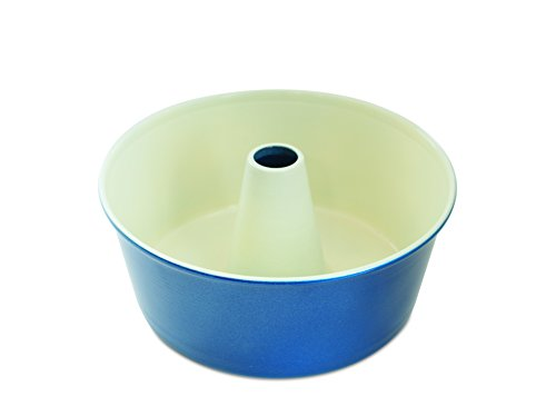 Nordic Ware 50919AMZ 12-Cup Angel Food Cake Pan, Navy 12-cup Bundt Pan