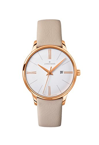 Junghans Meister reloj de cuarzo para mujer, 047/7570.00