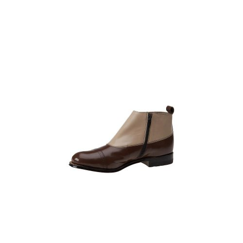 Stacy Adams Madison Boot Large Cuir Bottine Brown-Multi