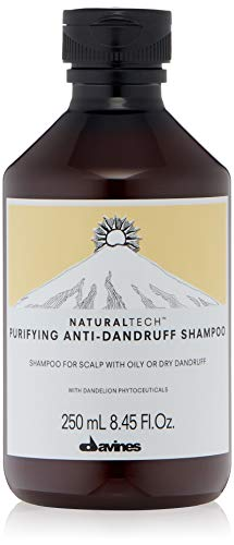 Davines natural tech purifying shampoo for scalp with