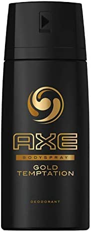 Axe Bodyspray for Men Gold Temptation, 150ml