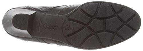 Gabor - Alesi, Stivaletti Donna Nero (Nero (Black Leather))