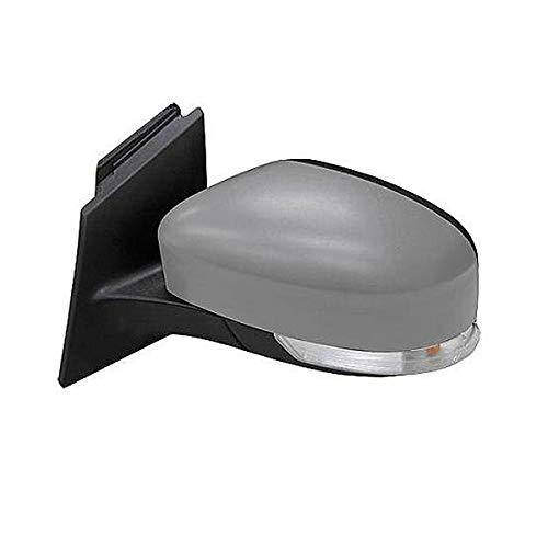 Retrovisor eléctrico con sensor temperatura, espejo térmico asférico y superficie imprimada - lato conductor para FOCUS de 2011 a 2014
