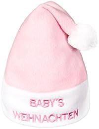 Alsino Weihnachtsmütze Babys Weihnachten für Mädchen rosa wm-93