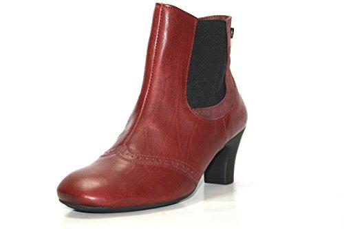 Think heah 83209 bottes & bottines femme Rot (chianti/kombi 35)