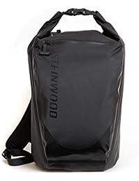 bc5f497fe8626 Steinwood Waterproof Dry-Bag 35L Multifunktions-Rucksack - Roll-Top Outdoor- Backpack - Daypack wasserdicht mit…