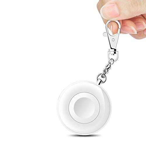 Oittm MFI Zertifierung Apple Watch Ladegerät Kabellose iWatch Akku Powerbank 900mAh mit Schlüsselanhänger Smart Wireless Charger für Apple Watch Series 1 / Apple Watch Series 2 / Apple Watch Nike +(900mAh-Weiß)