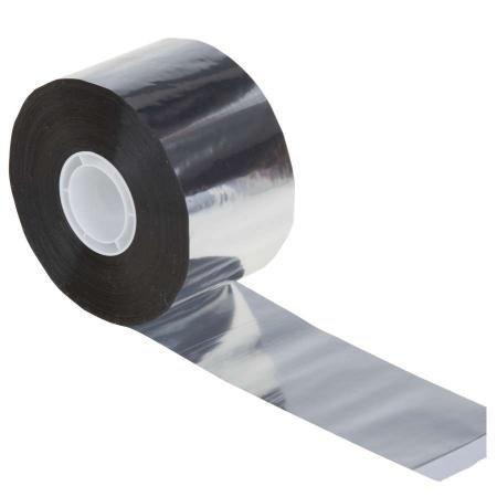 PP Ruban adhésif, en aluminium 100 mm x 100 m