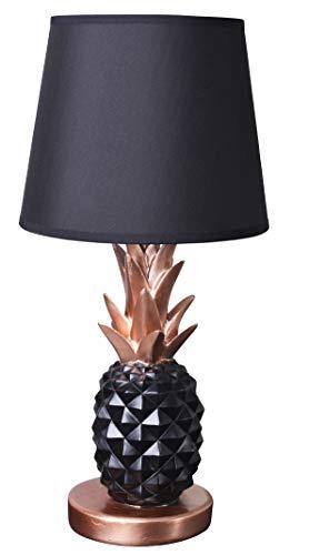 Tischlampe Ananas Lampe Nachttischlampe Vintage Miami Leuchte Pineapple Palazzo Exklusiv