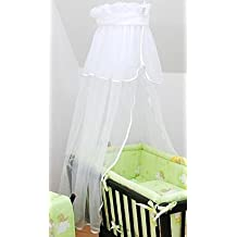 + de canasta de la cuna con inscripción y escudo del con tela mosquitera para tarjetas de aparcamiento para ropa de bebé o de oscilación // / para hoja de con ventosa para luna de diseño de cerditos - de la cesta de la blanco