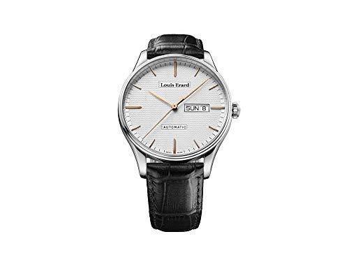 Montre Automatique Louis Erard Héritage Classic, Jour/Date, 72288AA31.BAAC82