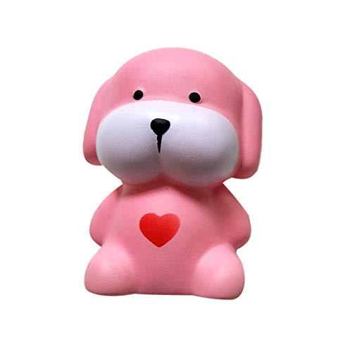Juguetes de Compresión Juguetes de Descompresión Adorable Perro Kawaii para Adulto y Niño Lento Creciente Conjunto de Juguetes para Aliviar el Estrés Holatee
