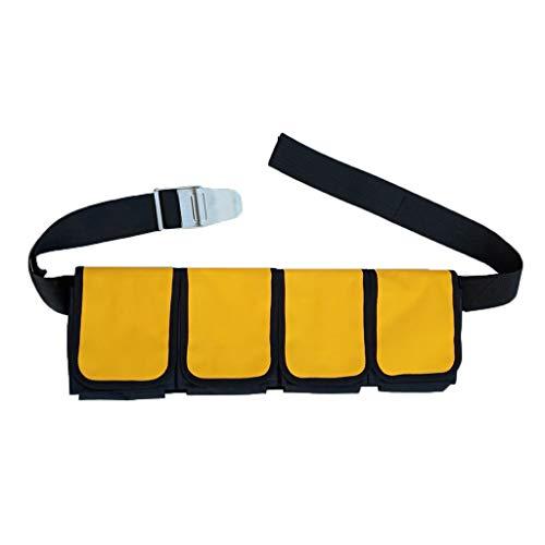 2 stücke Ersatz Tauchen Gewicht Gürtel Tasche mit Schnellverschluss 5,5 x
