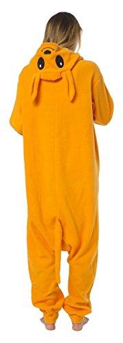 Katara 1744 -Kangaroo Kostüm-Anzug Onesie/Jumpsuit Einteiler Body für Erwachsene Damen Herren als Pyjama oder Schlafanzug Unisex - viele verschiedene Tiere