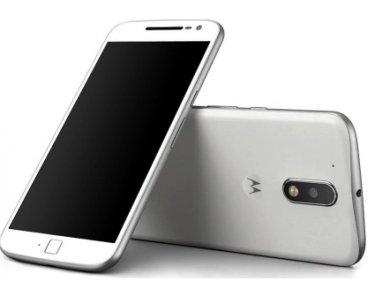 Motorola Moto G G4 Plus Smartphone 4G, con 16 GB di memoria, sistema Android, Micro USB, reti EDGE, GPRS, GSM, HSPA+, UMTS, LTE, forma a barra, colore: bianco