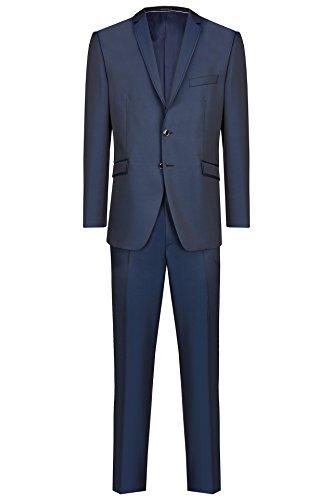 Michaelax-Fashion-Trade -  Abito  - Basic - Maniche lunghe  - Uomo Blau (32)