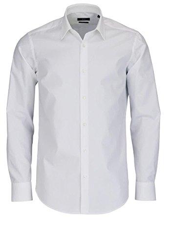 Boss Hemd Enzo Für Herren in Weiß, 44