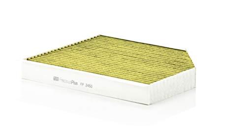 Original MANN-FILTER Innenraumluftfilter FP 2450 – FreciousPlus Biofunktionaler Pollenfilter – Für PKW