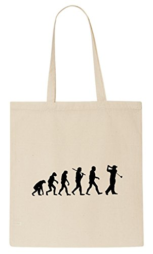 Evolution Golf T-shirt Tote Bag (Toten Golf-shirt)
