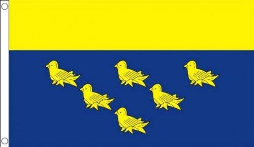 1.52 x meters 0.91 meters (150 cm x 90 cm) und West Sussex County 100% Material: Polyester-Flagge, Banner, Ideal für Pub, Club, Schulfest Business-Party Dekoration