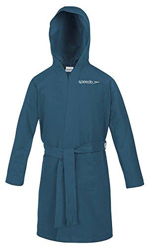 Speedo Microfiber Albornoz, Unisex adulto, Azul Marine, 6