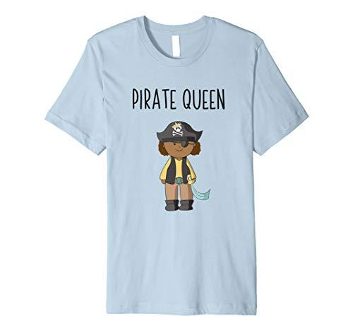 Pirat T-Shirts für Mädchen: Pirate Queen niedliche T-Shirt -