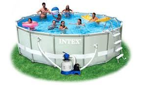Piscine Fuori Terra Intex 54924 Ultra Metal Frame 488 x...