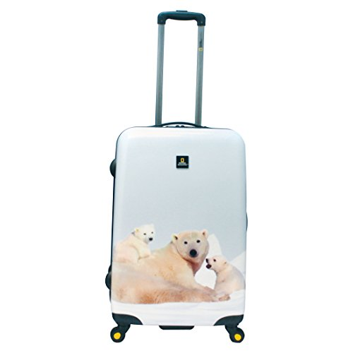National Geographic Nature of Love Polar Bear Valise 4 roulettes 68 cm polar bear