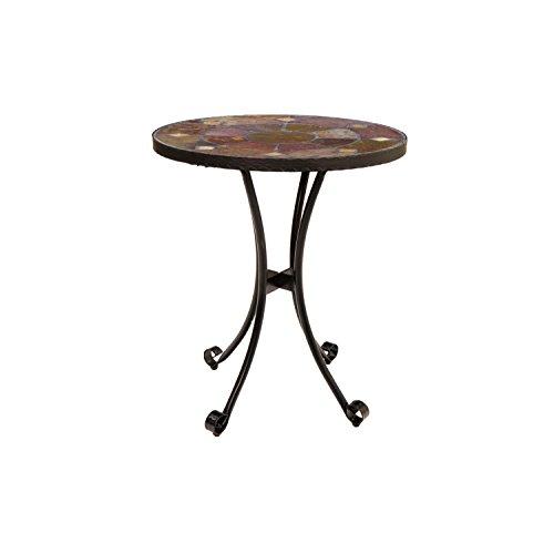 Europa Stone FM/167 Ondara Bistro Table, Black, 60x60x73 cm