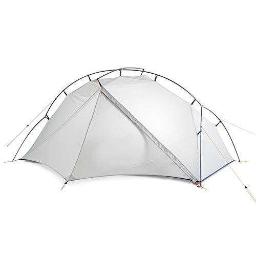 HAOYUNQI Serie Ultraleichtes wasserdichtes weißes Outdoor-Campingzelt for 1 Personenzelt (Color : White)