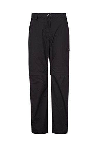 Mountain Warehouse Trek II Zip-Off Womens Short Trousers - Lightweight Ladies Bottoms, Quick Dry, Lots of Pockets, Zip-Off Short Pants - for Summer Travelling & Walking