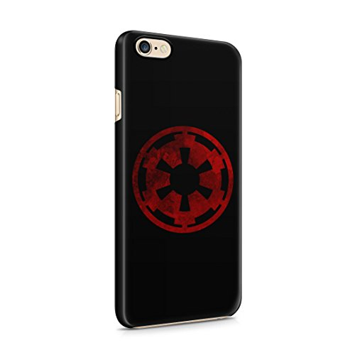 Star Wars Galactic Empire Grunge Logo iPhone 6 / 6S Hard Plastic Phone Case Cover