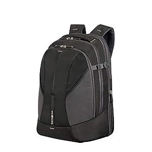 31uEpRiazEL. SS300  - Samsonite 4mation Laptop Backpack L Mochila Tipo Casual, 34 litros, Color Negro/Plateado, 45.5 cm