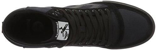 Hummel Slimmer Stadil Tonal High, Sneakers Hautes Mixte Adulte Noir (Black)