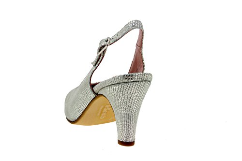 Chaussure femme confort en cuir Piesanto 8210 escarpin confortables amples Hielo