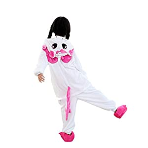 15b89089a6 DarkCom Niños Pijama Enterizo Animal. DarkCom Niños Pijama Enterizo Animal Cosplay  Disfraces De Dibujos Animados Mono Dormir Unicornio.