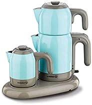 Korkmaz A353-06 Mia Çay Kahve Makinesi Mavi