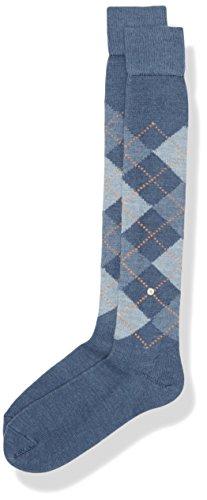 burlington-preston-calze-uomo-blau-orion-blue-6221-40-46