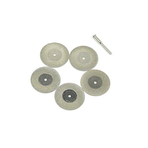 UKCOCO 5 stücke 40mm Mini Diamant Trennscheiben Diamant Sägeblatt Diamant Schleifscheibe Drehwerkzeug