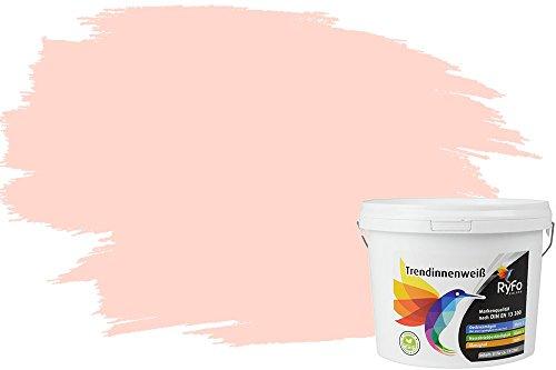 RyFo Colors Einhornrosa 3l (Größe wählbar) - hochwertige zertifizierte rosa Wandfarbe für sensible Räume, bunte Innenfabe