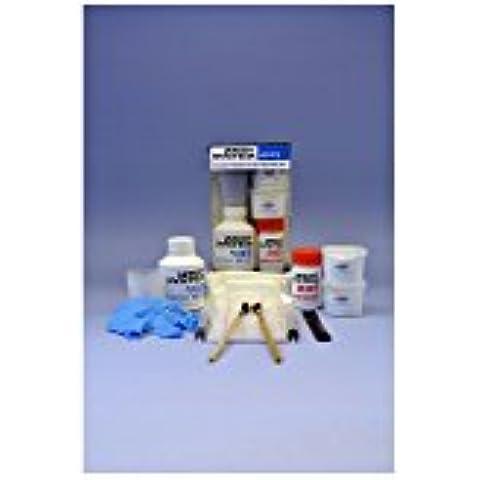 Wessix Resins - Juego de reparación de fibra de vidrio para barco (sistemas de resina expoxi)